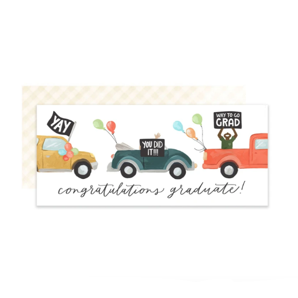 Graduation Parade Card