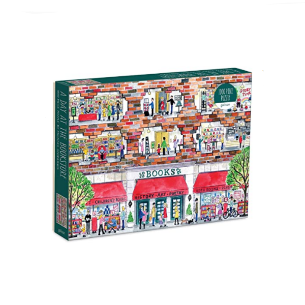 Michael Storrings A Day at the Bookstore 1000-PC Puzzle