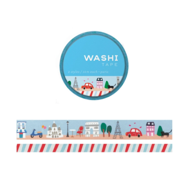 Washi Tape: Paris Set of 2