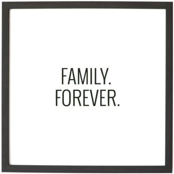 Family Forever Magnetic Art