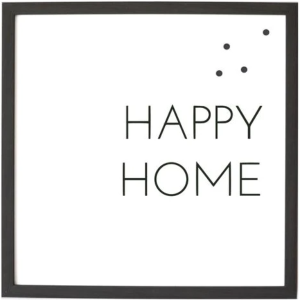 Happy Home Magnetic Art