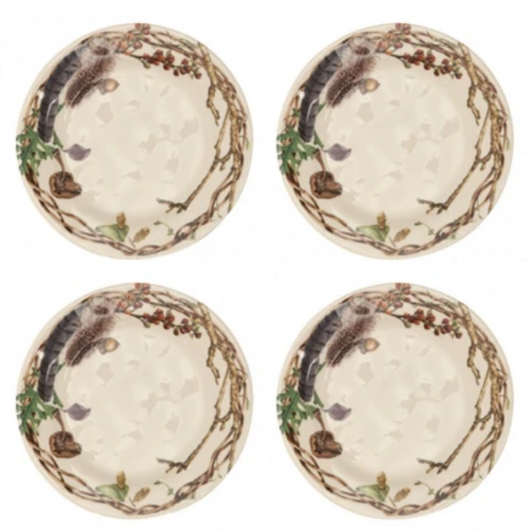 Forest Walk Salad Plate Set