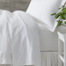 Classic Hemstitch White Sheet Set