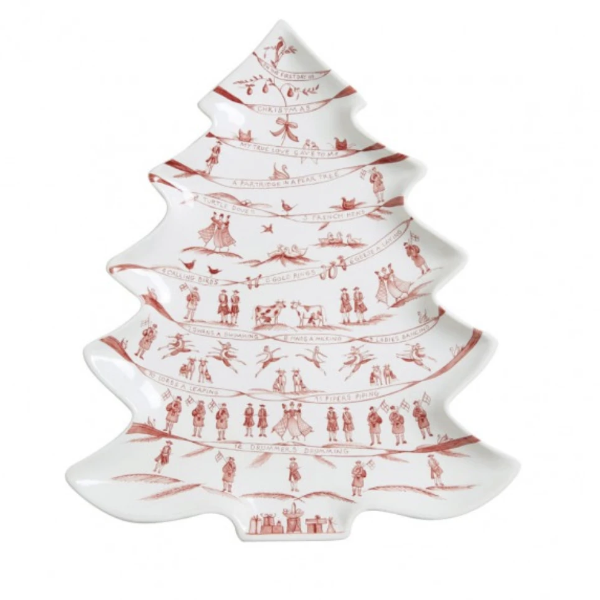 Country Estate Ruby Tree Platter