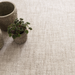 Crosshatch Wool Rug: Ivory