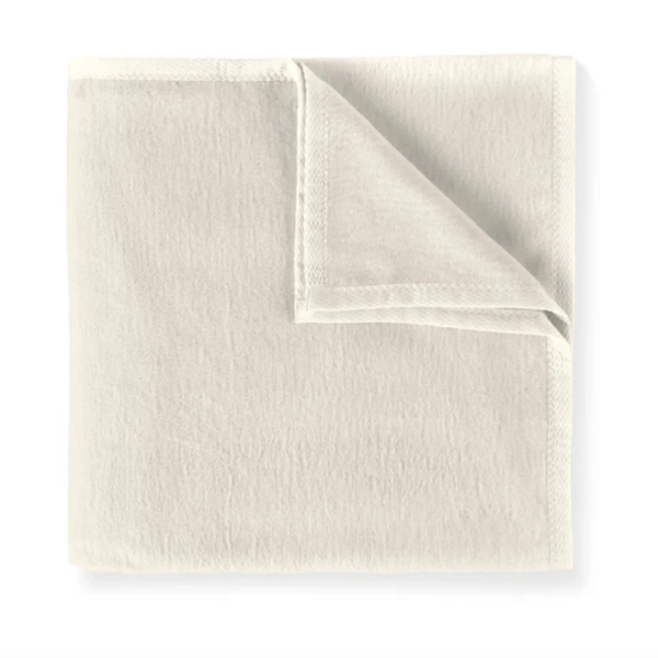 All-Seasons Cotton Blanket: Linen
