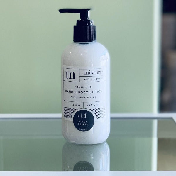 Mixture Hand Lotion- Black Pepper