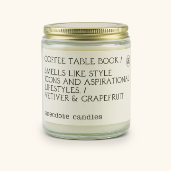 Coffee Table Book- Candle