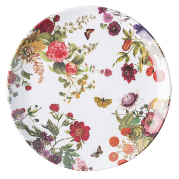 Field of Flowers Melamine Dinner