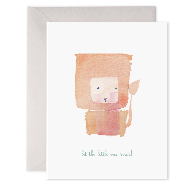 Little One Roar Card