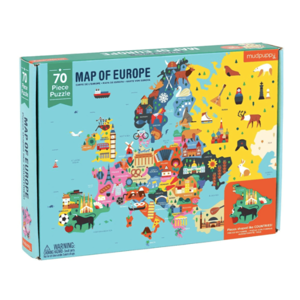 Map of Europe 70-piece Puzzle