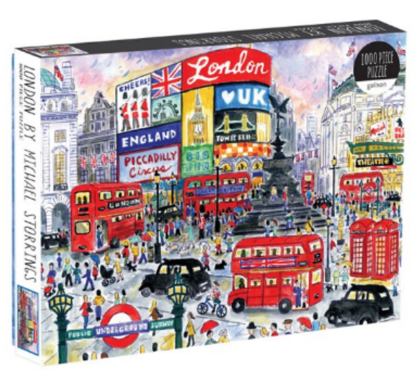 London By Michael Storrings 1000 Pc. Puzzle