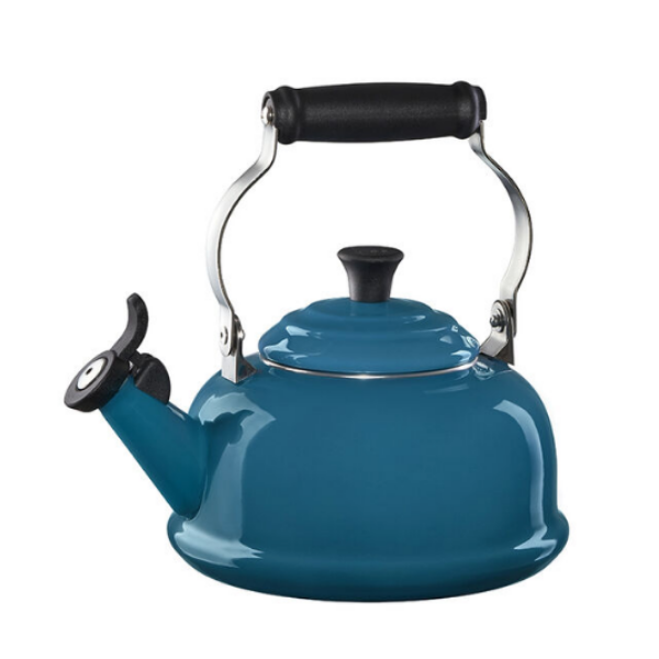 Le Creuset Classic Whistling Kettle (Deep Teal)