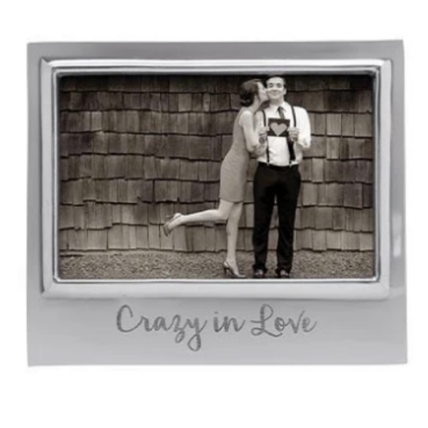 CRAZY IN LOVE 4x6 Signature Frame