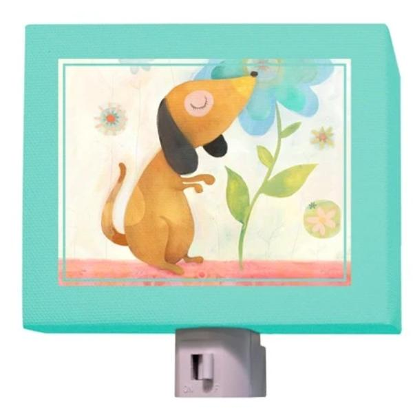 Puppy's Favorite Flower Nightlight
