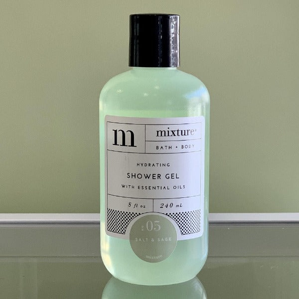 Mixture Shower Gel- Salt & Sage