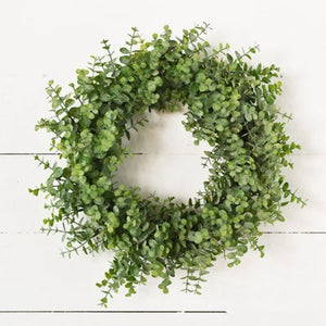 Eucalyptus green wreath