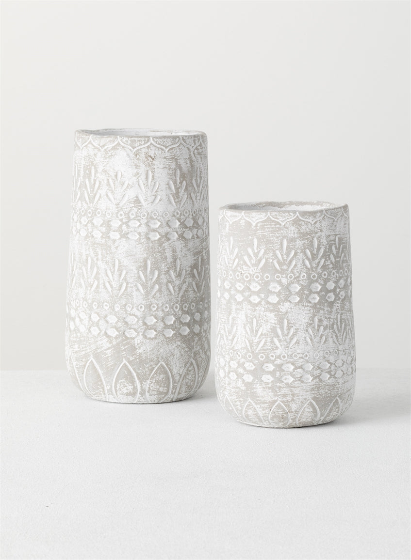 Tall Ceramic Pot