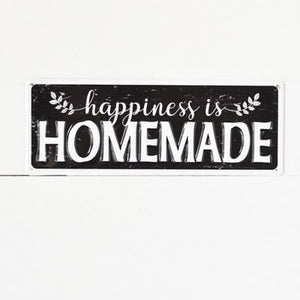 HOMEMADE HAPPINESS SIGN