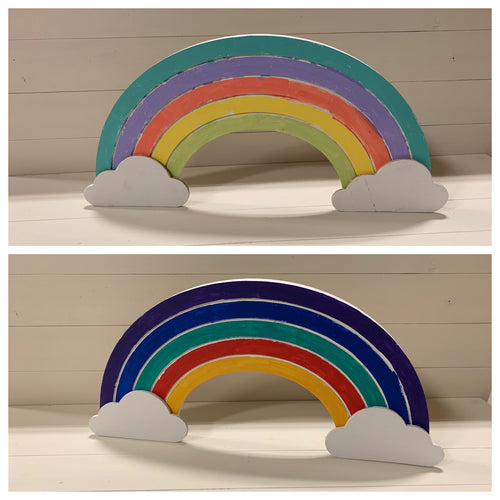 Rainbow kids craft