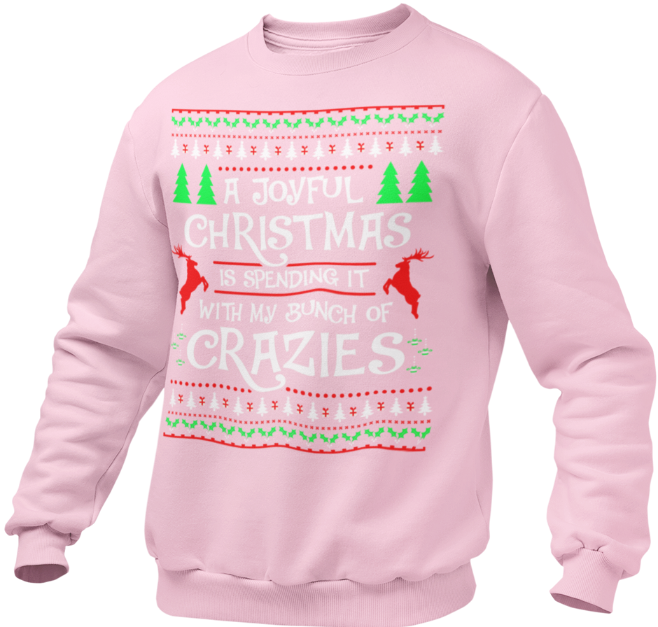 CRAZIES - UGLY CHRISTMAS SWEATSHIRT