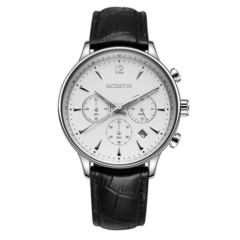 Chrono White/Silver