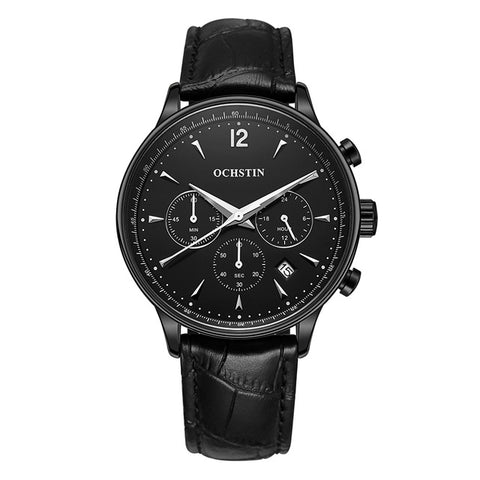 Men's Chrono Full Black Watch