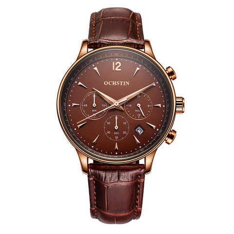 Chrono Brown/Rose Gold