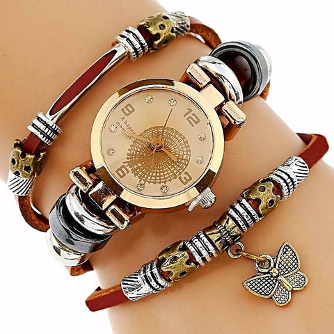 Genova Charm Watch with Bracelet
