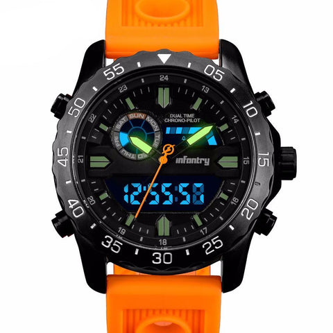 Infantry Quartz Military Sports Watch