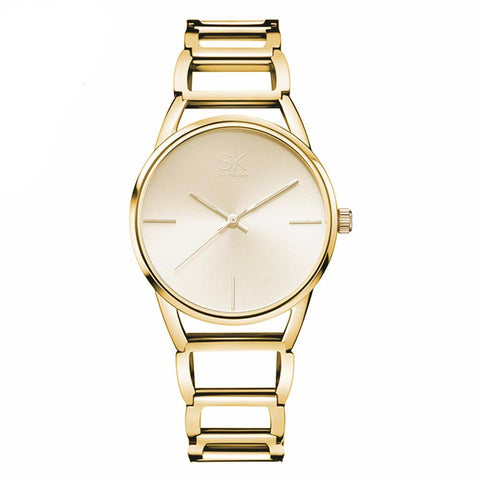 Elegant Minimalist Chain Watch