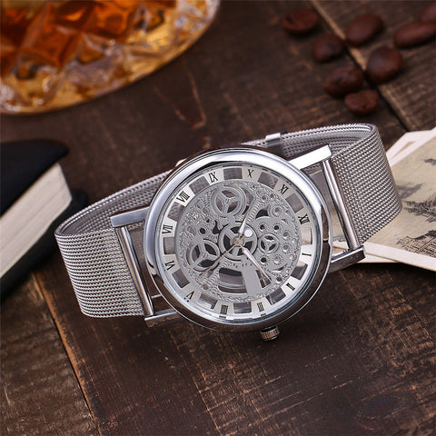 Hollow Out Mechanical Watch