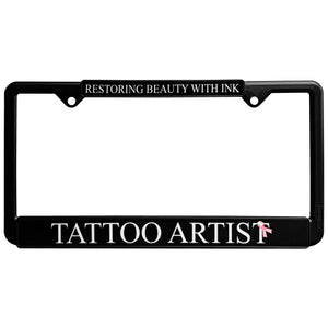 License Plate Frame - Restorative Ink Specialists