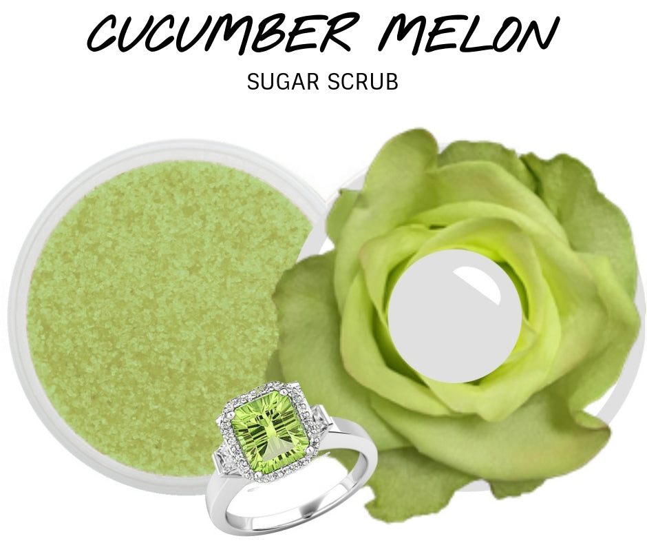 Cucumber Melon - Jewelry Sugar Scrub