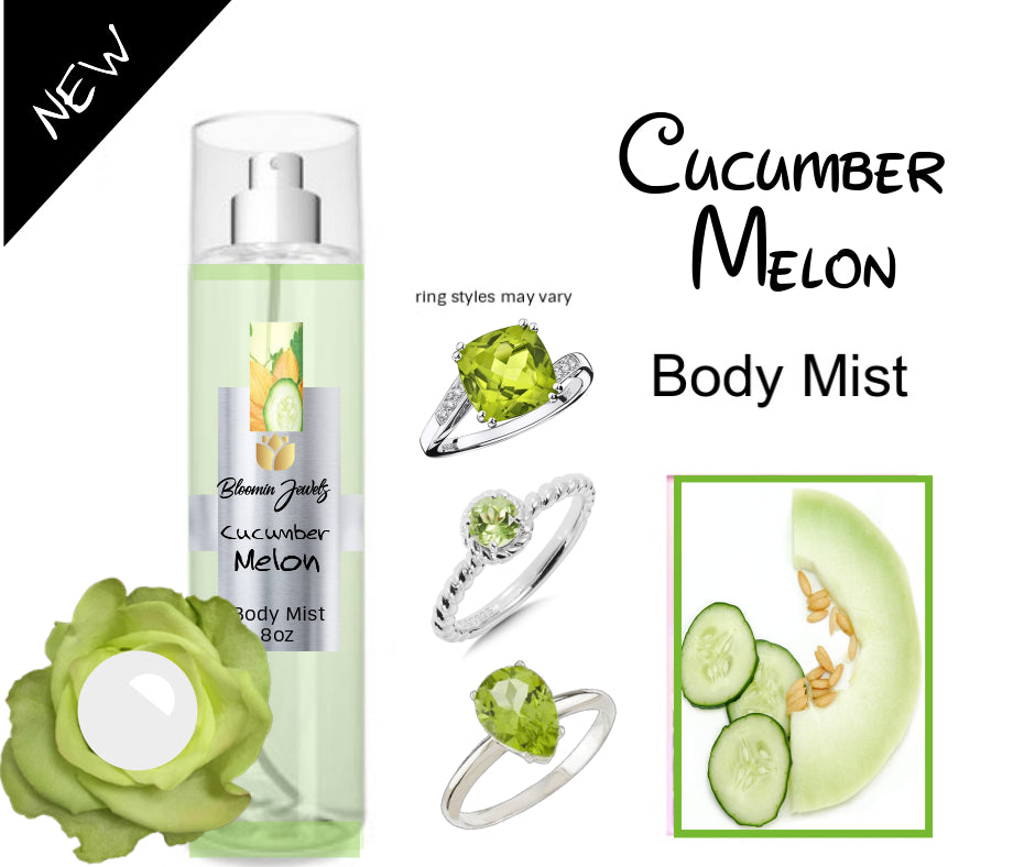 Cucumber Melon - Jewelry Body Mist