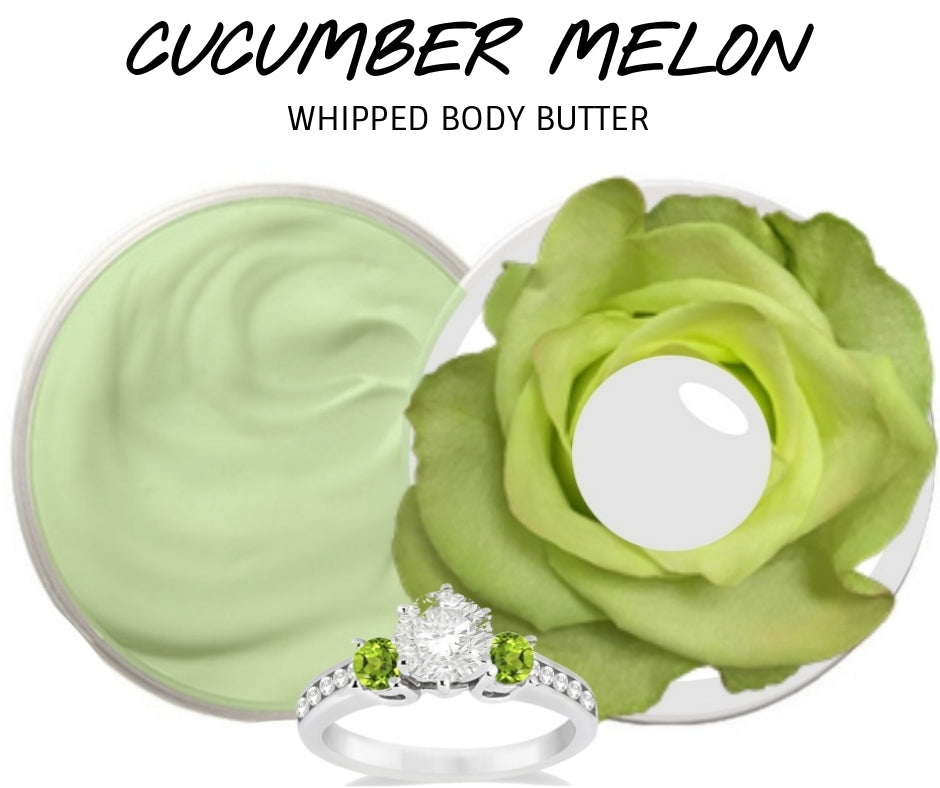 Cucumber Melon - Jewelry Whipped Body Butter