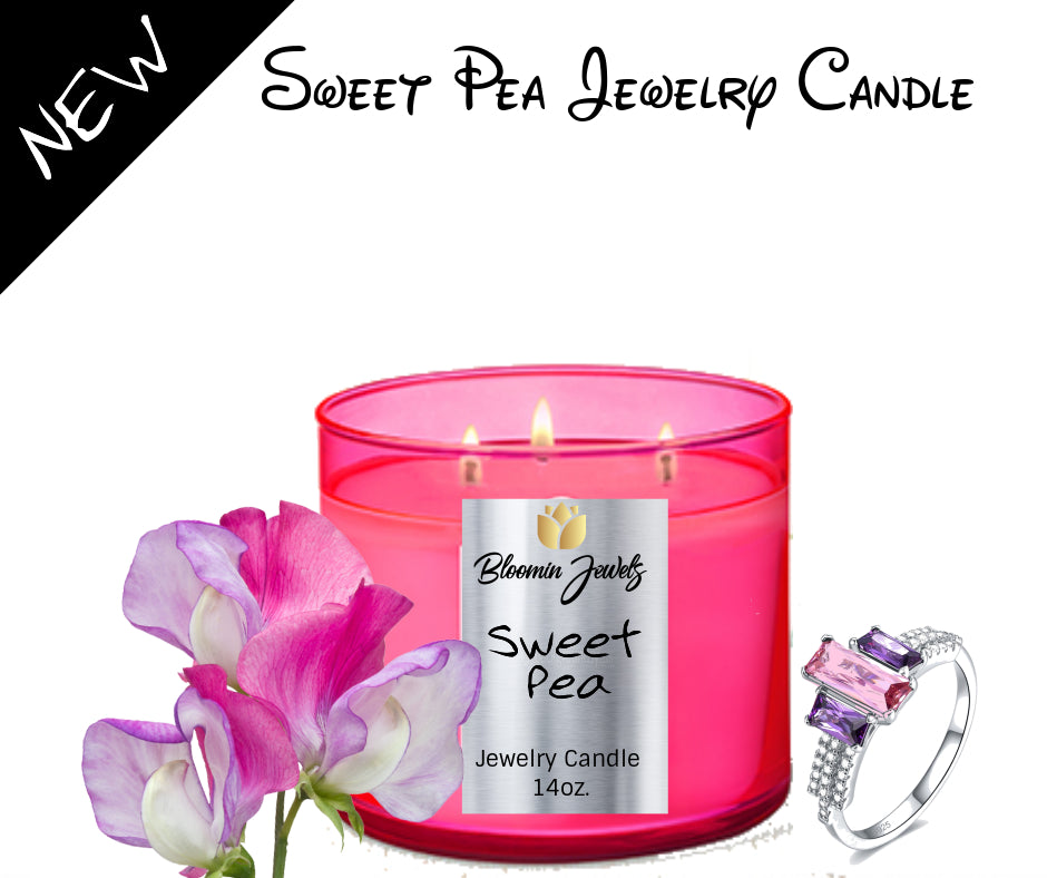 Sweet Pea - Jewelry Candle