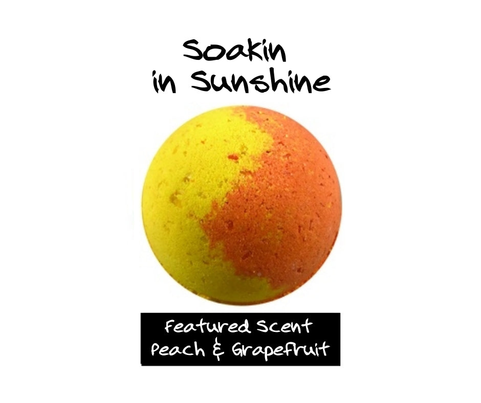 Soakin In Sunshine -Bath Bomb