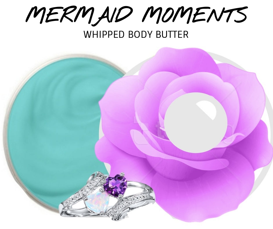 Mermaid Moments - Jewelry Whipped Body Butter