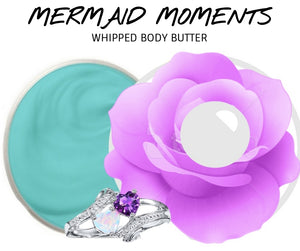 Mermaid Moments - Jewelry Whipped Body Butter - Bloomin Jewels