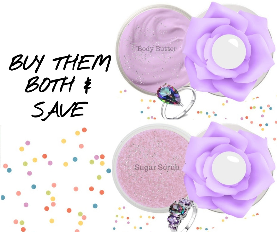 Unicorn Candy - Body Butter & Sugar Scrub Set