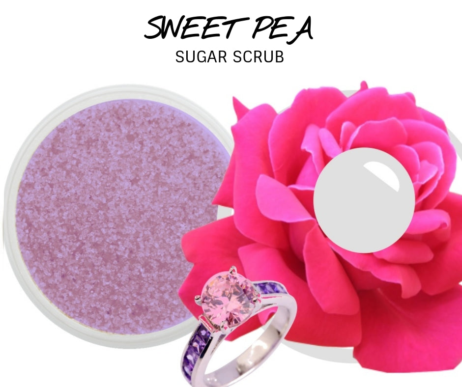 Sweet Pea - Jewelry Sugar Scrub