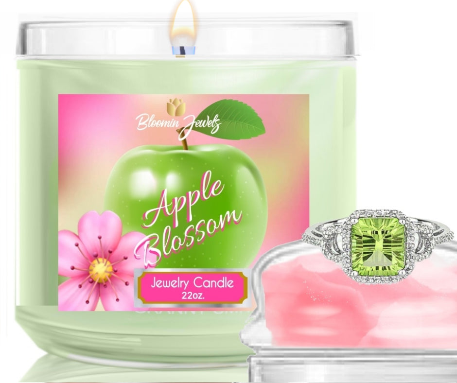 Apple Blossom - Jewelry Candle