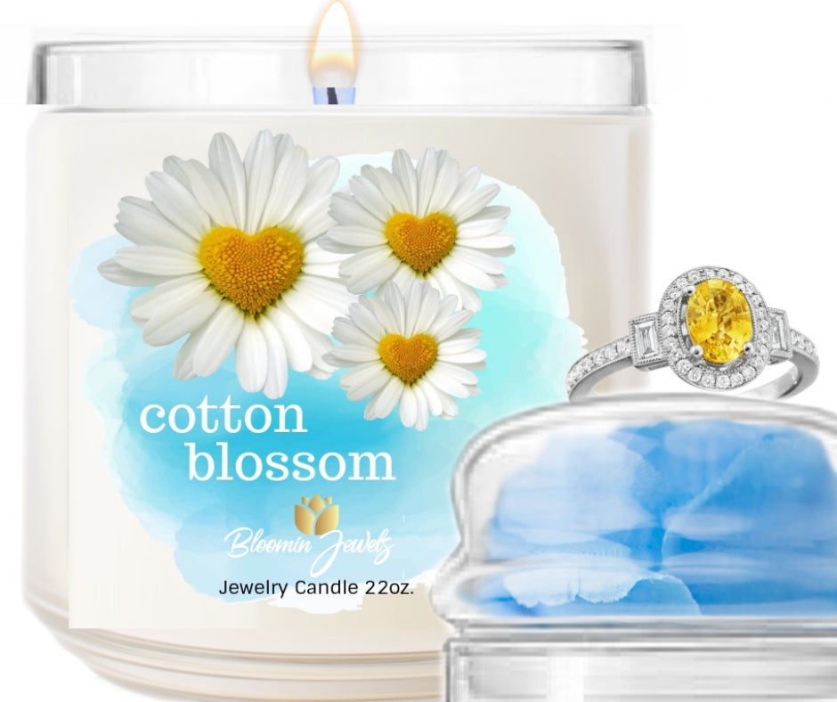 Cotton Blossom   - Jewelry Candle