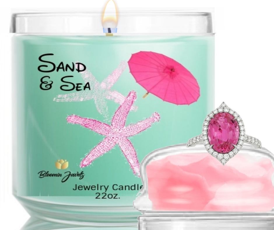Sand & Sea - Jewelry Candle