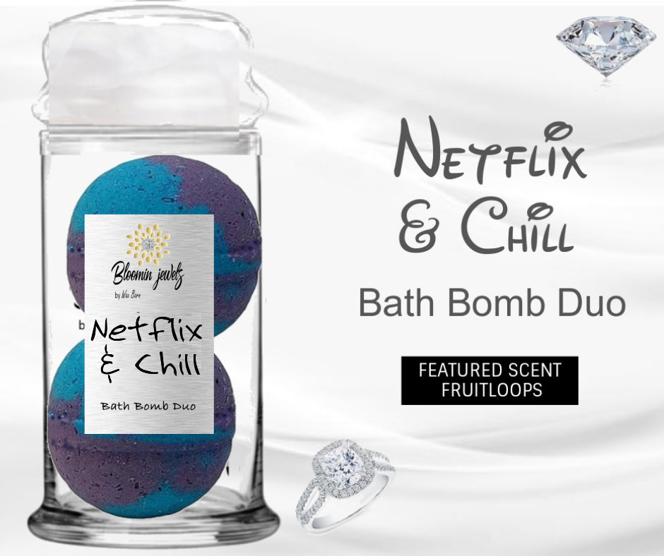 Netflix & Chill - Jewelry Bath Bomb Duo