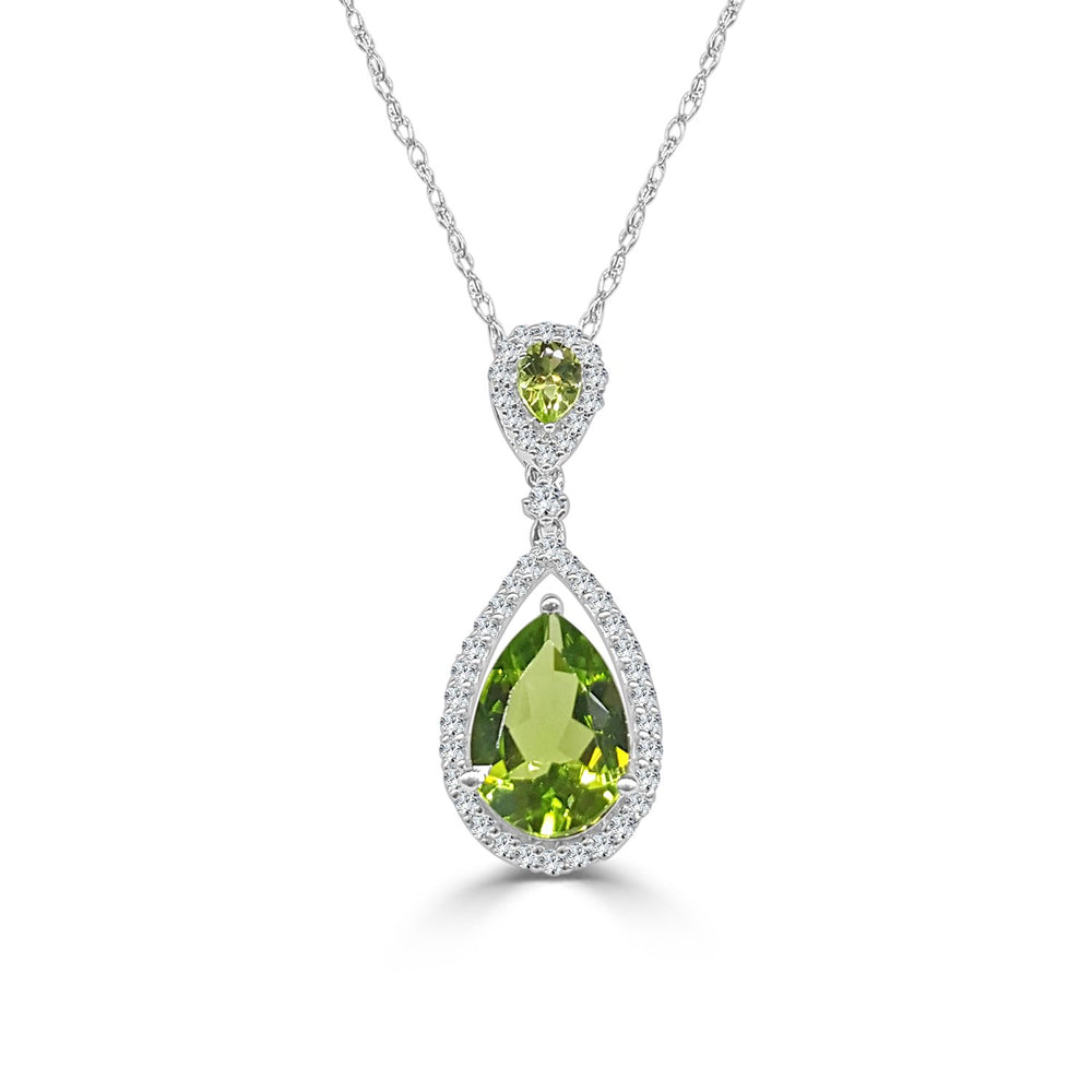 August Peridot Necklace