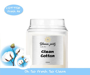 Clean Cotton - Classic Candle
