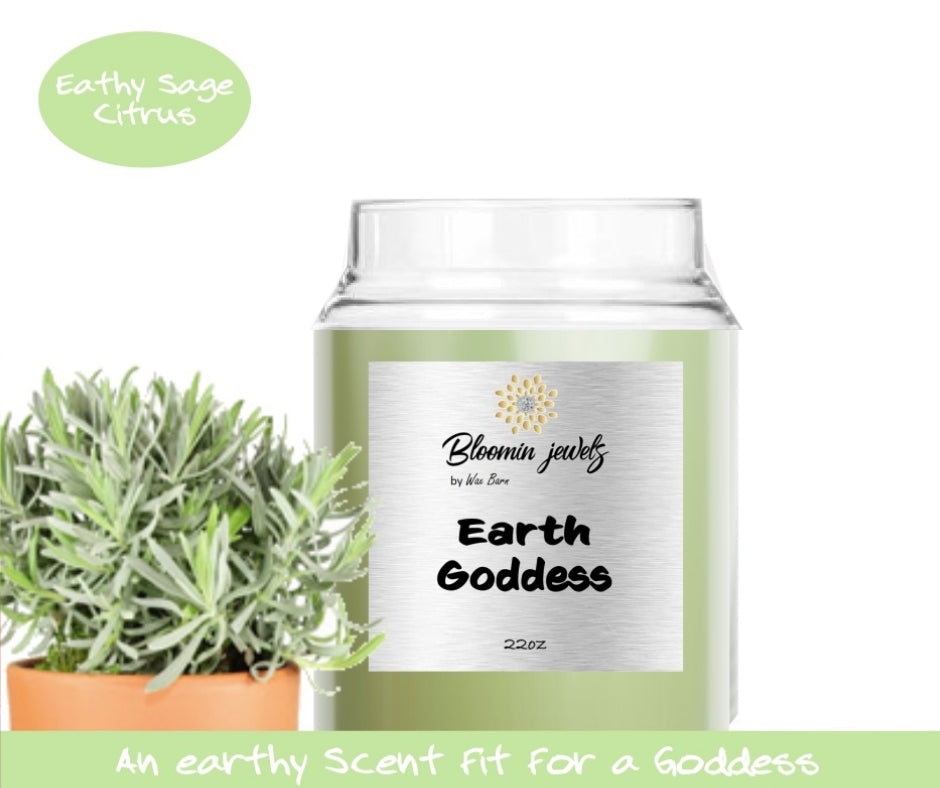 Earth Goddess - Classic Candle