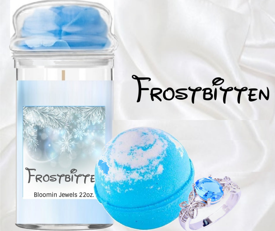 Frostbitten - Jewelry Candle and Bath Bomb Set